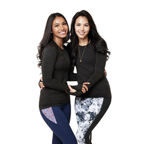 An alternate promotional photo of Parul &amp; Maggie for <i>The Amazing Race Asia</i>.