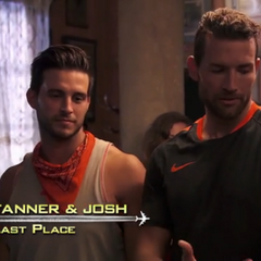 Josh &amp; Tanner arrive to the <a href=