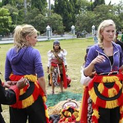 Caitlin &amp; Brittany preparing do the <i>Lion's Head</i> in <a href=
