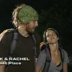 TK &amp; Rachel finish last on <a href=