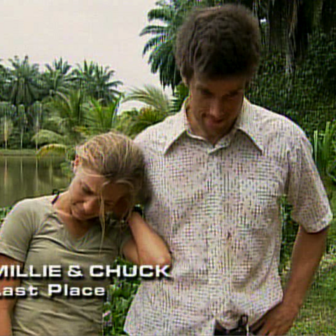 Millie & Chuck were eliminated from the race in 5th place.