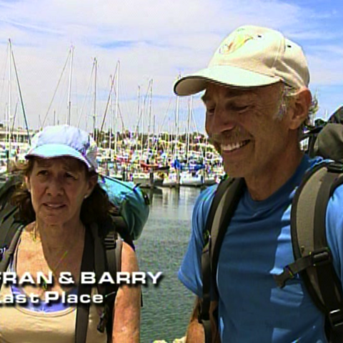 Fran & Barry were eliminated from the race in 5th place.