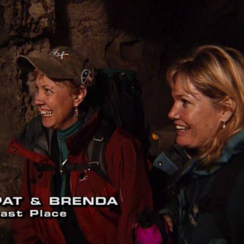 Pat & Brenda were eliminated from the race in 9th place.