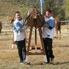 Dan &amp; Jordan doing the <i>Horse Carry</i> <a href=