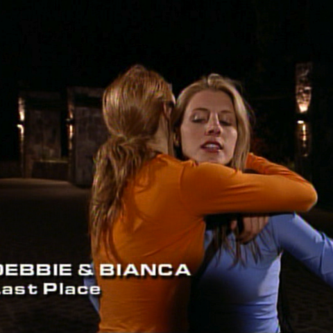 Debbie & Bianca were eliminated from the race in 9th place.