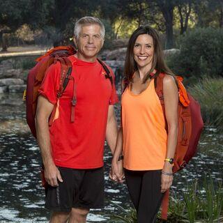 Jeff &amp; Lyda's alternate promotional photo for <i>The Amazing Race</i>.