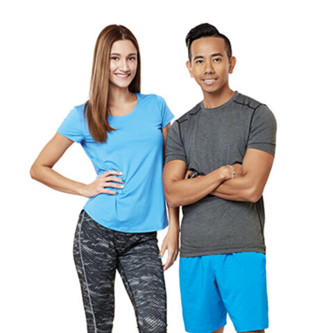 An alternate promotional photo of Tom &amp; Anita for <i>The Amazing Race Asia</i>.