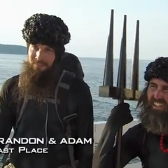 Brandon &amp; Adam were eliminated from the race in 8th place after having been U-Turned by <a href=