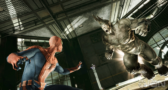File:Spider-Man and the Rhino.png