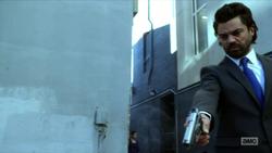 Jesse kills a security guard