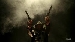 The Saint slaughters gun aficionados