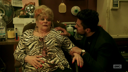 Jesse commands Tammy to reveal why God was at her club