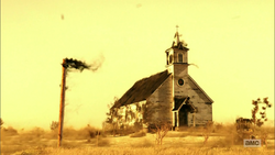 All Saints' Congregational catches fire
