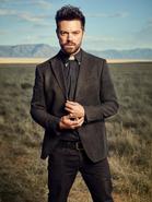 Preacher season 1 - Jesse Custer on a field 2