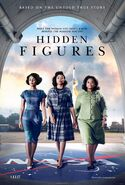 Hidden Figures (Theodore Melfi – 2016) poster