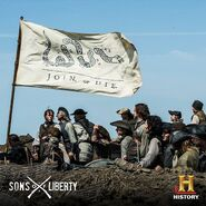 Sons of Liberty (Kari Skogland – 2015) Facebook photo