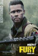 Fury (David Ayer – 2014) poster 8