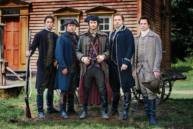 File:Sons of Liberty (Kari Skogland – 2015) cast.jpg