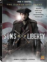 Sons of Liberty (Kari Skogland – 2015) Season 1 DVD front cover 2