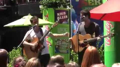 Kris Allen - Happy Birthday - Chicago