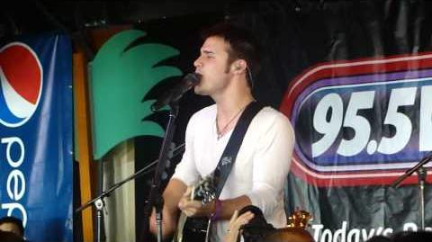 Kris Allen - Alright With Me - Point Pleasant. NJ 5-28-10