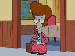 American Dad 1AJN17 Roger suit