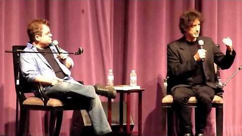 Neil Gaiman & Patton Oswalt @ Saban Theater in L.A. 6 28 11 pt1 of 6