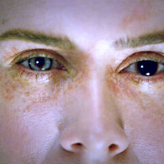 Cordelia's new eyes.