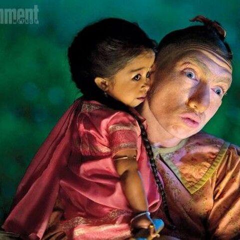 Ma Petite (Jyoti Amge) and <a href=