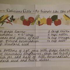 Baxter Dill recipe