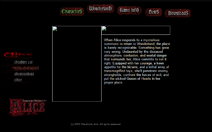 Old alice website character page