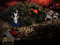 Alice against Card Guards promotional render