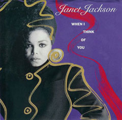 Janet Jackson When I Think Of You cover