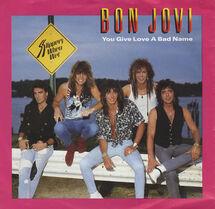 Bon Jovi You Give Love A Bad Name cover