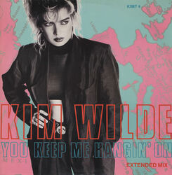 Kim Wilde You Keep Me Hanging On cover