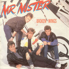 Mr. Mister Broken Wings cover