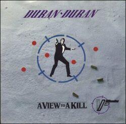 Duran Duran A View To A Kill cover