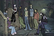 MTV Downtown Characters