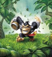 Dark Turbo Charge Donkey Kong Artwork