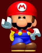 Mini Mario Artwork