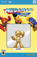 MegaMan Gold Packaging