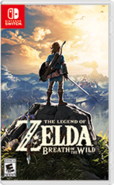 The Legend of Zelda Breath of the Wild Switch box art