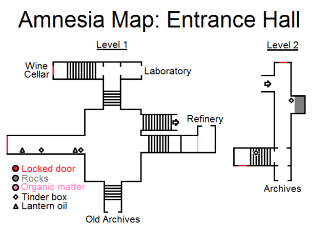 Archivo:Amnesia map entrance hall by hidethedecay-d3yr2w4.png