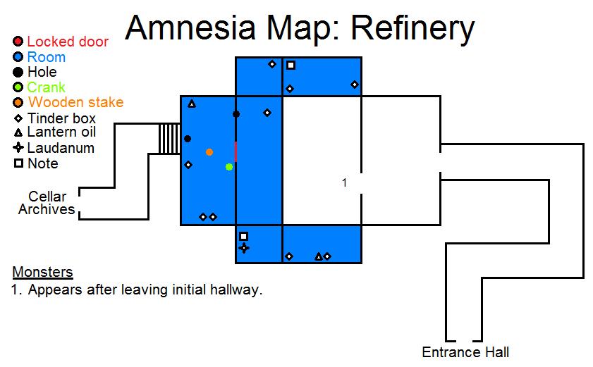locked door hall refinery amnesia wiki fandom powered by wikia