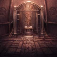 Arte conceptual del Santuario Interior.