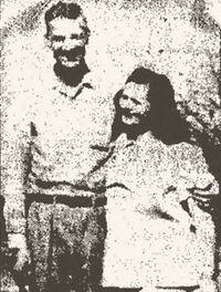 Mary Sartin with husband
