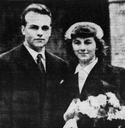 Roger Girerd and his wife