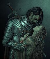 Lillian death in Gaston's arms