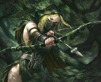 Nymeria a soldier