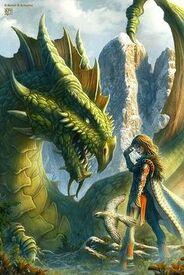 Anne III meets a dragon
